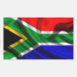 South Africa Flag Fabric Sticker