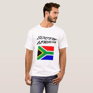 South Africa Flag Fun Font T-Shirt