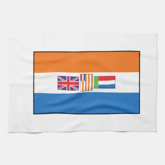 South Africa Flag Hand Towels