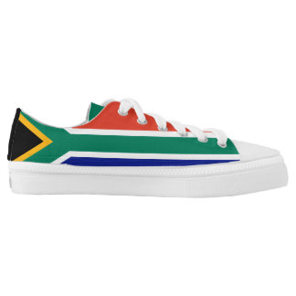 South Africa Flag Low-Top Sneakers