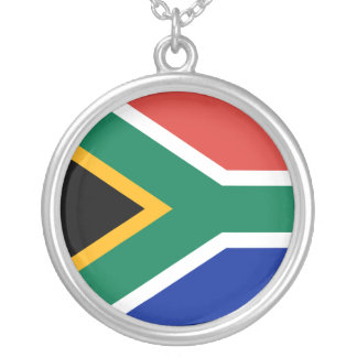 South Africa Flag Necklace