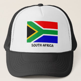 South Africa: Flag of South Africa Trucker Hat