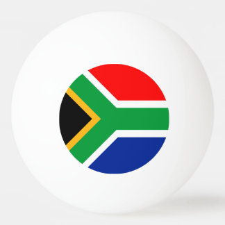 South Africa Flag Ping Pong Ball