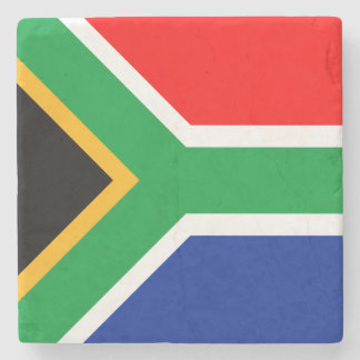 South Africa Flag Stone Coaster