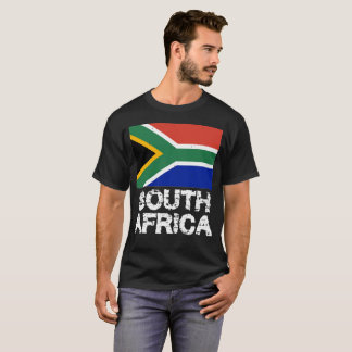 South Africa Flag T-Shirt for Men and Women