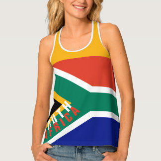 South Africa Flag Tank Top | Racerback
