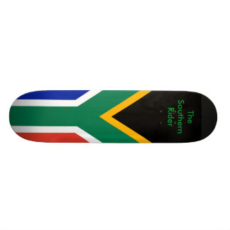 South Africa Flag The MUSEUM Zazzle Gifts Template Skateboard Decks
