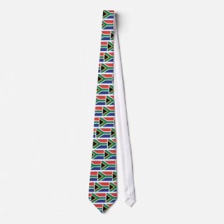 South Africa Flag Theme Tie
