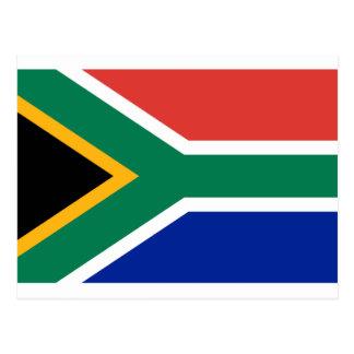 South Africa Flag -  Vlag van Suid-Afrika Postcard