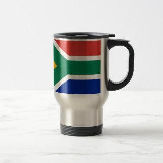 South Africa Flag -  Vlag van Suid-Afrika Travel Mug