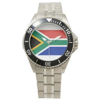 South Africa Flag -  Vlag van Suid-Afrika Wrist Watch