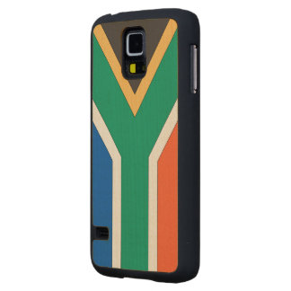 South Africa Flag Maple Galaxy S5 Case