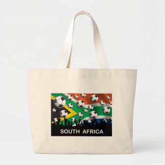 South Africa Football Large Tote Bag