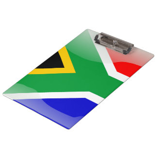 South Africa glossy flag Clipboards