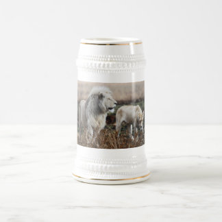 South Africa Lion as king Beer Stein