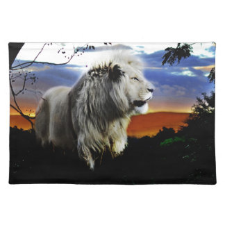 South Africa Lion in the Jungle Placemat