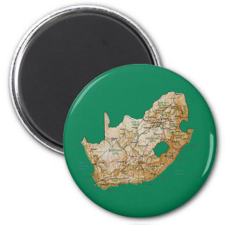 South Africa Map Magnet