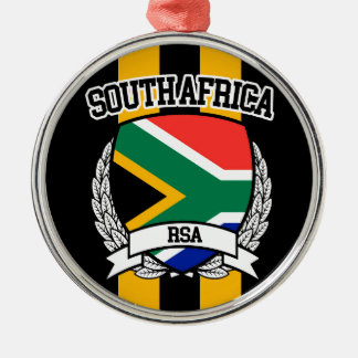 South Africa Metal Ornament