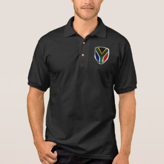 South Africa Metallic Emblem Polo Shirt