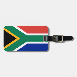 South Africa National World Flag Luggage Tag