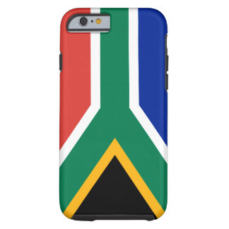 South Africa National World Flag Tough iPhone 6 Case