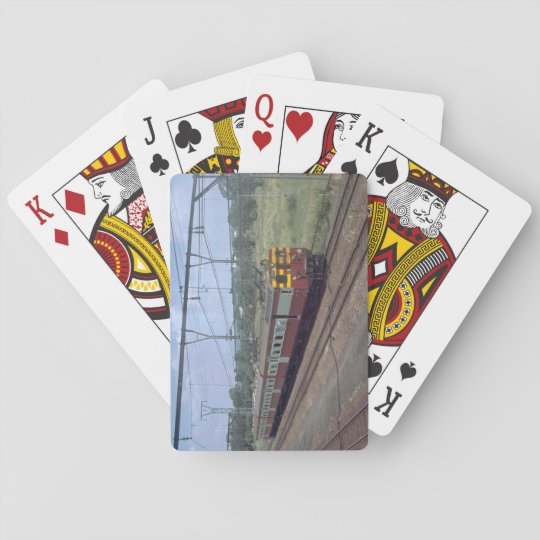 South Africa, SAR MU_Trains of the World Poker Deck