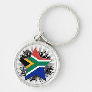 South Africa Star Keychain