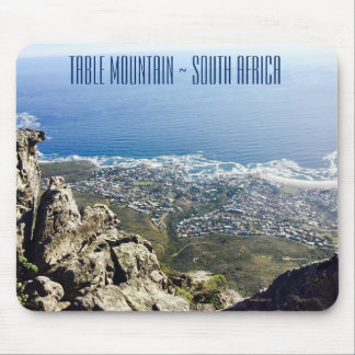 South Africa Table Mountain Tram, Cape Town Mouse Pad