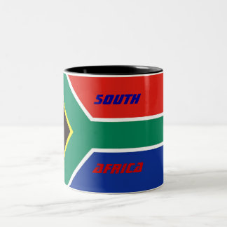 SOUTH, AFRICA Two-Tone COFFEE MUG