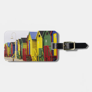 South Africa, Western Cape, St James. Colorful Bag Tag