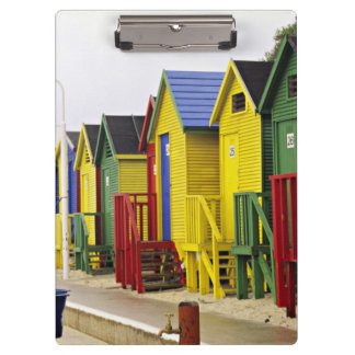 South Africa, Western Cape, St James. Colorful Clipboards