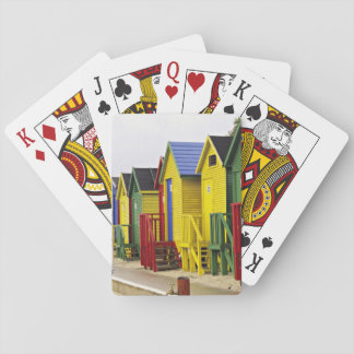 South Africa, Western Cape, St James. Colorful Playing Cards