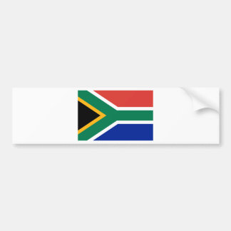 South Africa ZA Bumper Sticker