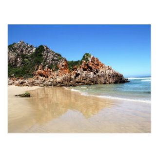 South African Beach Postcard