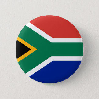 """SOUTH AFRICAN FLAG"" 2 INCH ROUND BUTTON"