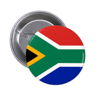 South African Flag 2 Inch Round Button