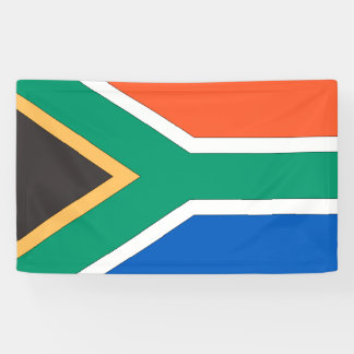 South African Flag Banner