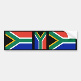 South African Flag Bumper Sticker