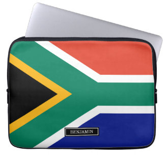 South African Flag Computer Sleeve