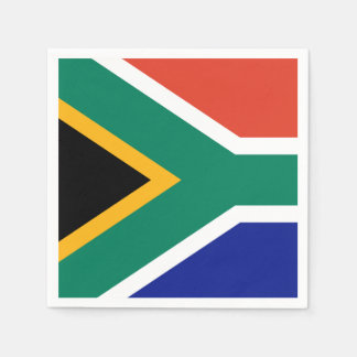 South African Flag Disposable Napkin