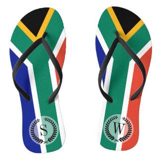 South African Flag Flip Flops