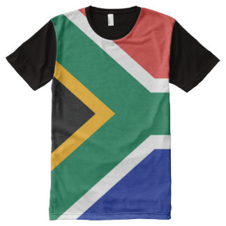 South African Flag full