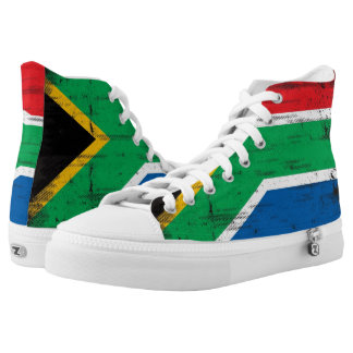 South African flag High Tops