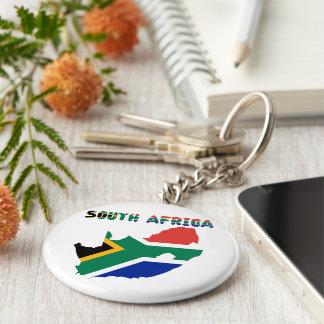South African flag Keychain