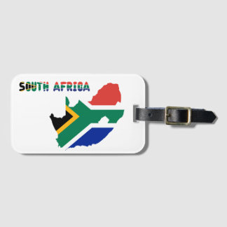 South African flag Luggage Tag