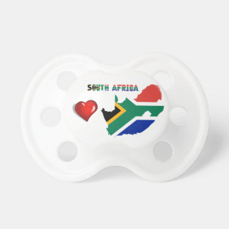 South African flag Pacifier