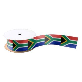 South African flag ribbon Satin Ribbon
