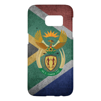 South African flag Samsung Galaxy S7 Case