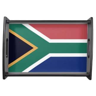 """SOUTH AFRICAN FLAG"" SERVING TRAY"