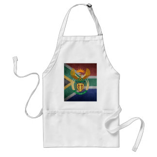 South African flag Standard Apron